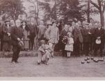1923 Opening of the old bowls green Golford